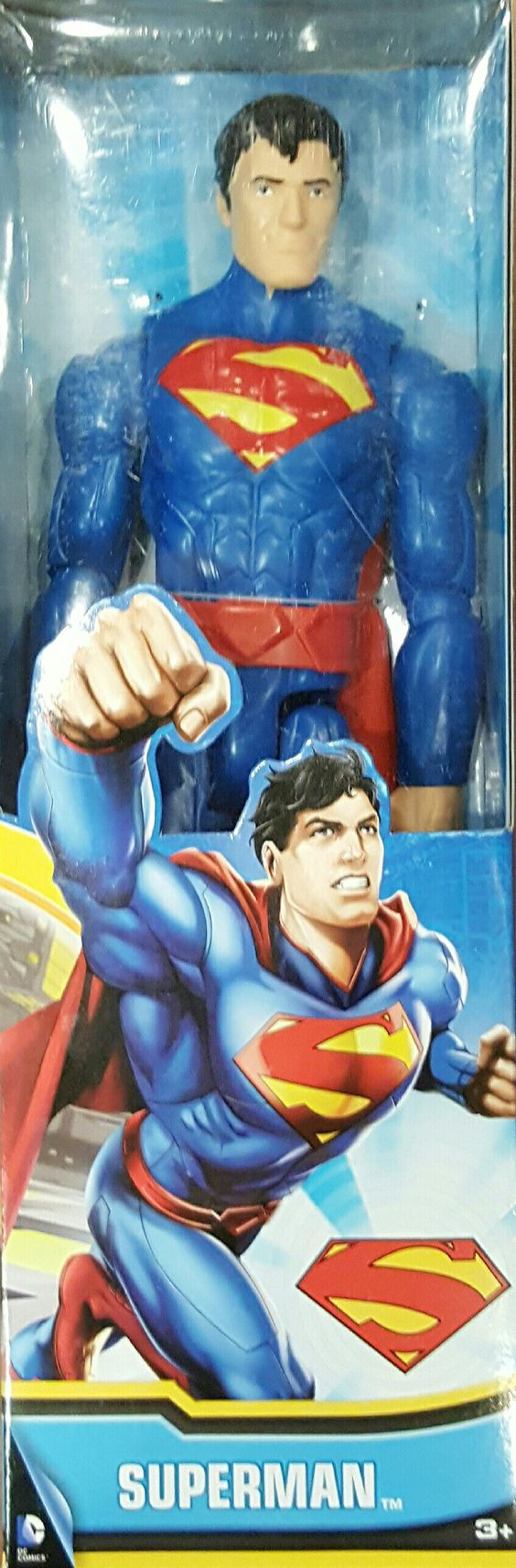 Superman in original packaging