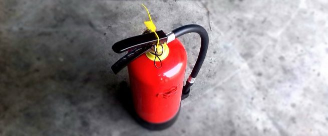 Photo of fire extinguisher
